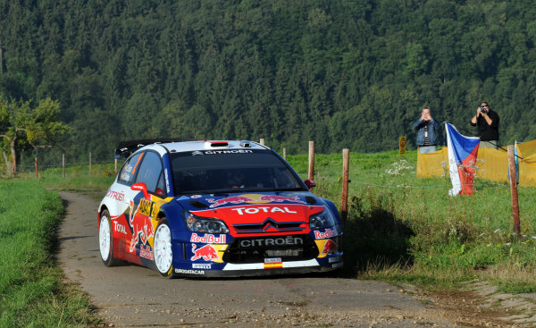 Round 09Rallye Deutschland 19-22/8 2010Dani Sordo, Citroen WRC, ActionWorldwide Copyright: McKlein/LAT