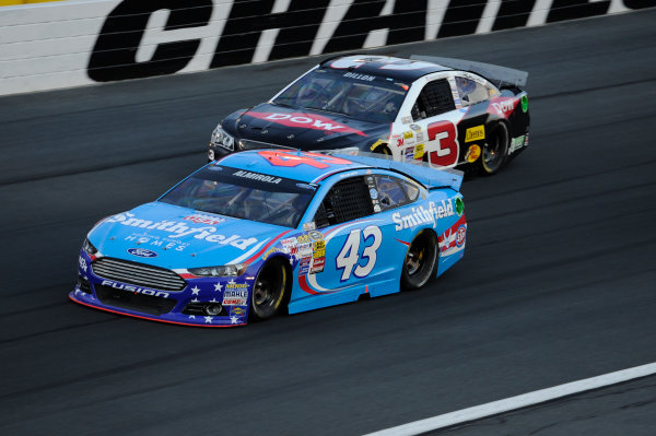 16-17 May, 2014, Concord, North Carolina, USA   Aric Almirola, Austin Dillon © 2014, John Harrelson / LAT Photo USA