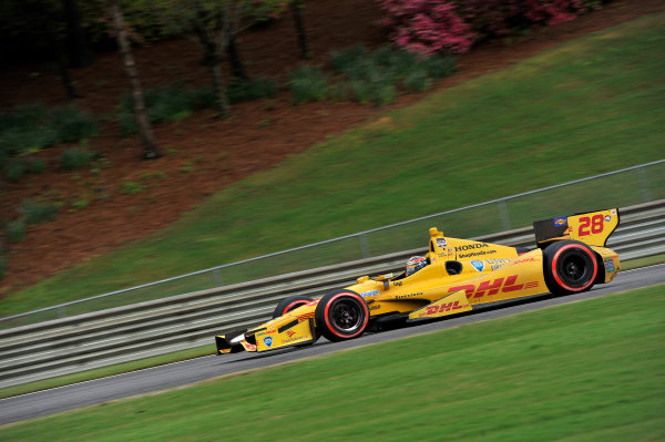 25-27 April, 2014, Birmingham, Alabama USA Ryan Hunter-Reay ©2014 Scott R LePage  LAT Photo USA