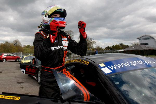 2014 Protyre Motorsport Ginetta GT5 Challenge, Oulton Park, Cheshire. 19th April 2014. Ollie Chadwick (GBR) Xentek Motorsport Ginetta G40. World Copyright: Ebrey / LAT Photographic.