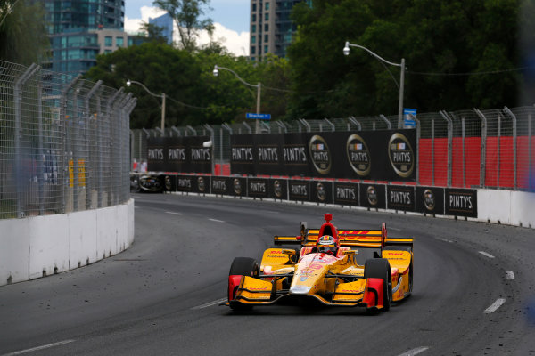 Verizon IndyCar Series Honda Indy Toronto Toronto, ON CAN Sunday 16 July 2017 Ryan Hunter-Reay, Andretti Autosport Honda World Copyright: Phillip Abbott LAT Images ref: Digital Image abbott_toronto_0717_7020