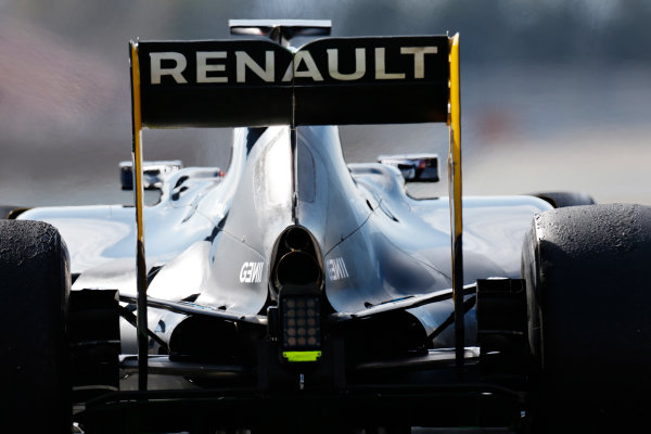 Circuit de Catalunya, Barcelona, Spain Thursday 25 February 2016. Kevin Magnussen, Renault RE16. World Copyright: Alastair Staley/LAT Photographic ref: Digital Image _79P4737