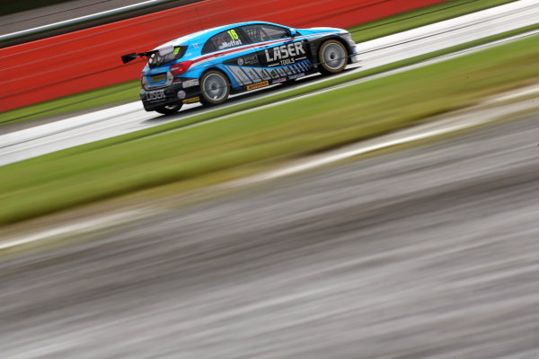 2017 British Touring Car Championship, Silverstone, Northants, UK. 16th-17th September 2017 Aiden Moffat (GBR) Laser Tools Racing Mercedes Benz A-Class World copyright. JEP/LAT Images