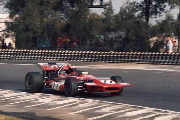 1970 Mexican Grand Prix.  Mexico City, Mexico. 23-25th October 1970.  Jo Siffert, March 701 Ford.  Ref: 70MEX05. World copyright: LAT Photographic