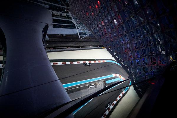 Yas Marina Circuit, Abu Dhabi, United Arab Emirates. Friday 24 November 2017. Valtteri Bottas, Mercedes F1 W08 EQ Power+. World Copyright: Steve Etherington/LAT Images  ref: Digital Image SNE20313