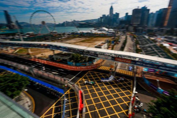 2017/2018 FIA Formula E Championship. Round 1 - Hong Kong, China. Saturday 02 December 2017.Lucas Di Grassi (BRA), Audi Sport ABT Schaeffler, Audi e-tron FE04. Photo: Alastair Staley/LAT/Formula E ref: Digital Image _ALS5750
