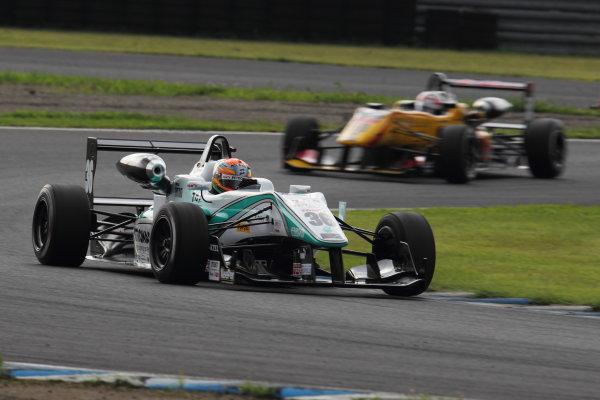 Motegi, Japan. 3rd - 4th August 2013. Rd 5. Race 1 - Winner  Yuichi Nakayama ( #36 PETRONAS TEAM TOM'S ) action. World Copyright: Yasushi Ishihara/LAT Photographic. Ref: 2013JF3_Rd10_003