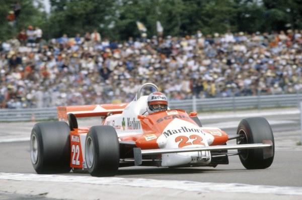 1981 French Grand Prix.Dijon-Prenois, France. 3-5 July 1981.Mario Andretti (Alfa Romeo 179B), 8th position.World Copyright: LAT PhotographicRef: 35mm transparency 81FRA25