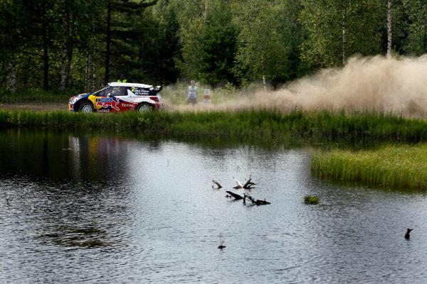 Round 08-Neste Rally Finland 1/8-4/8 2012.Mikko Hirvonen, Citroen WRC, Action.Worldwide Copyright: McKlein/LAT