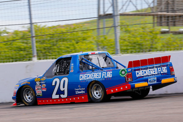 NASCAR Camping World Truck Series Drivin? For Linemen 200 Gateway Motorsports Park, Madison, IL USA Saturday 17 June 2017 Chase Briscoe, Brad Keselowski's Checkered Flag Foundation Ford F150 World Copyright: Russell LaBounty LAT Images