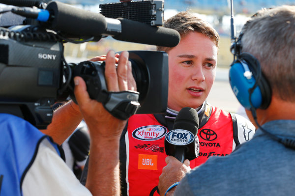 NASCAR XFINITY Series American Ethanol E15 250 presented by Enogen Iowa Speedway, Newton, IA USA Saturday 24 June 2017 Christopher Bell, ToyotaCare Toyota Camry World Copyright: Brett Moist LAT Images