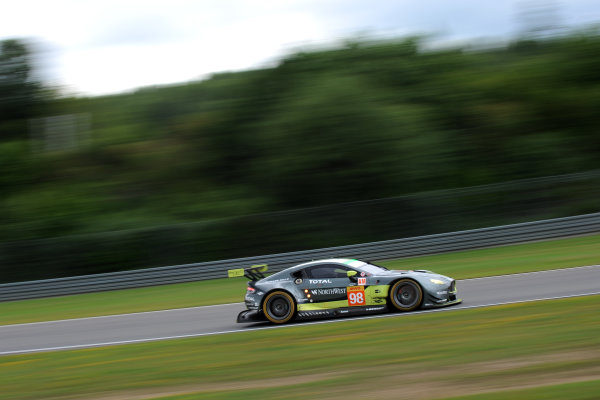 2017 World Endurance Championship, Nurburgring, Germany. 14th-16th July 2017 #98 Aston Martin Racing Aston Martin Vantage: Paul Dalla Lana, Pedro Lamy, Mathias Lauda  World copyright. JEP/LAT Images