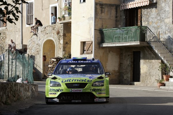 2007 FIA World Rally ChampionshipRound 13Rally of France, Tour de Course 200711-14 October 2007Marcus Gronholm, Ford, Action.Worldwide Copyright: McKlein/LAT