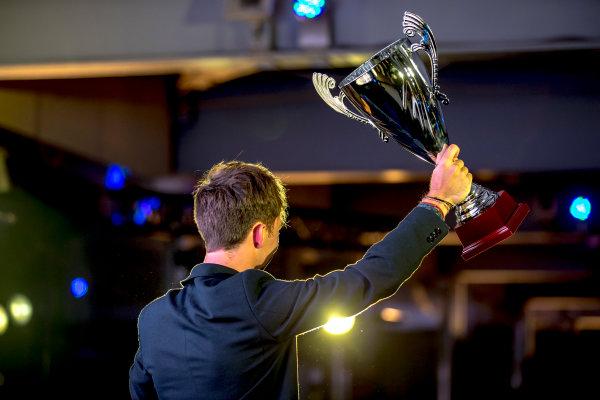 2016 GP2/3 Awards Evening. Yas Marina Circuit, Abu Dhabi, United Arab Emirates. Sunday 27 November 2016. Pierre Gasly (FRA, PREMA Racing)  Photo: Zak Mauger/GP2 Series Media Service/GP3 Series Media Service. ref: Digital Image _X0W9991