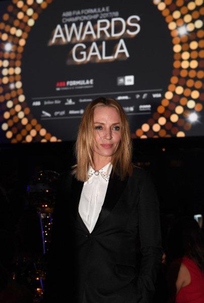 Uma Thurman attends the Awards Gala