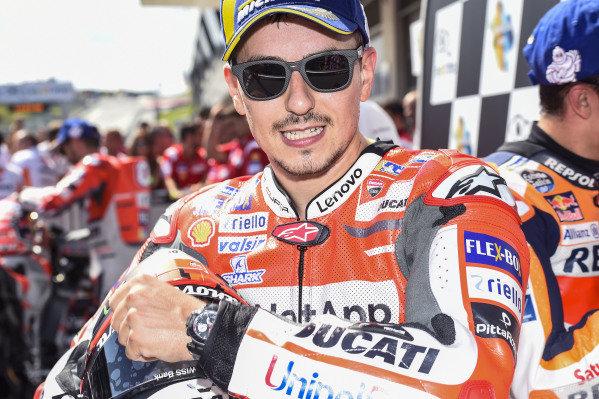 Winner Jorge Lorenzo, Ducati Team