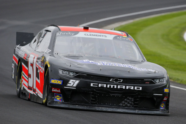 #51: Jeremy Clements, Jeremy Clements Racing, Chevrolet Camaro BRT Extrusions
