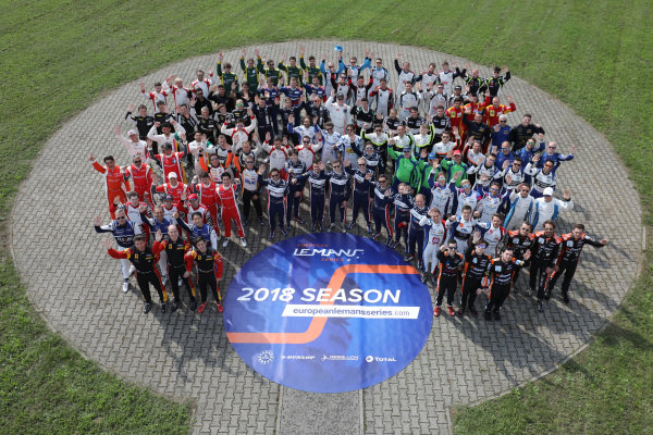 2018 European Le Mans Series drivers photo