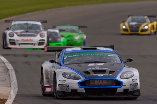 Silverstone, England. 30th April - 2nd May 2010.Luc Paillard / Thomas Accary (Hexis AMR Aston Martin DBRS9). Action. World Copyright: Alastair Staley/LAT PhotographicRef: _O9T6456 jpg