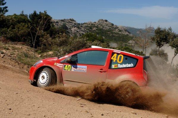 2005 FIA World Rally Championship, Rally Italia Sardinia, April 28-May 1, 2005Olbia, Sardinia.Leg One.Conrad Rautenbach (ZIM) on Stage 2.Digital Image