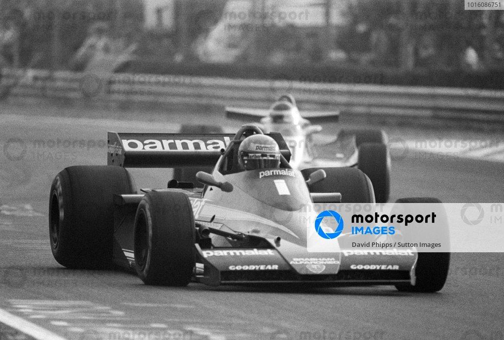 Race winner Niki Lauda (AUT) Brabham BT46.Italian Grand Prix, Rd14, Monza, Italy, 10 September 1978.