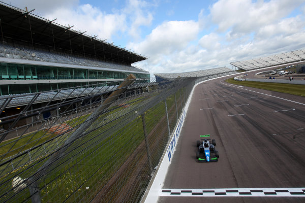 2016 BRDC British Formula 3 Championship, Rockingham, Northamptonshire.  30th April - 1st May 2016. Eugene Denyssen (RSA) Sean Walkinshaw Racing BRDC F3. World Copyright: Ebrey / LAT Photographic.
