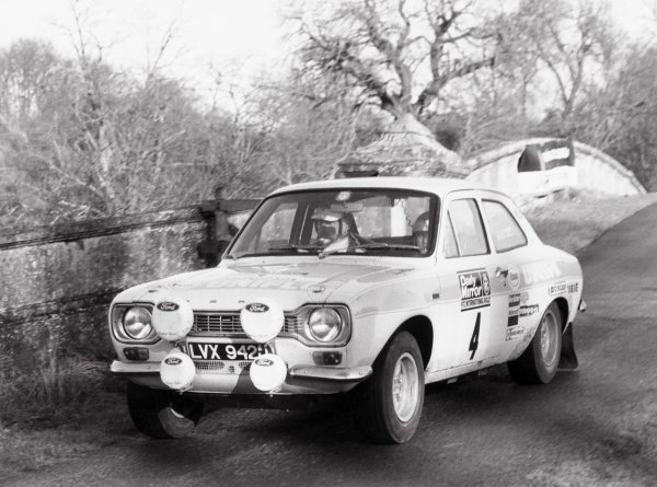 1972 Daily Mirror RAC Rally.