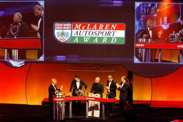 Sunday 2nd December 2012  2012 McLaren Autosport BRDC Young Driver of the Year Award winner Jake Dennis. World Copyright:Glenn Dunbar/  ref: Digital Image _G7C6263