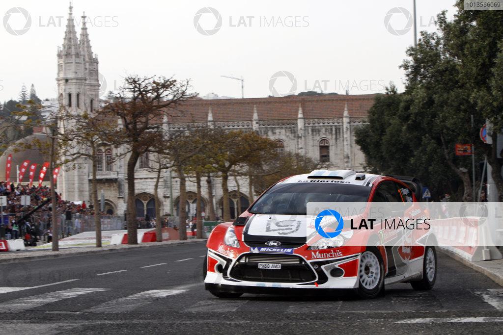 Round 03-Rally Portugal. 23th-27th March 2011.Fredrico Villagra, Ford WRC, Action.Worldwide Copyright: McKlein/LAT