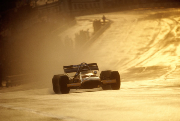 Peter Gethin, McLaren M14A Ford.