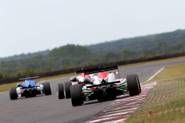 2014 British F3 International Series, Snetterton, Norfolk. 20th - 22nd June 2014. Sam MacLeod (GBR) Fortec Motorsports Dallara Mercedes. World Copyright: Ebrey / LAT Photographic.