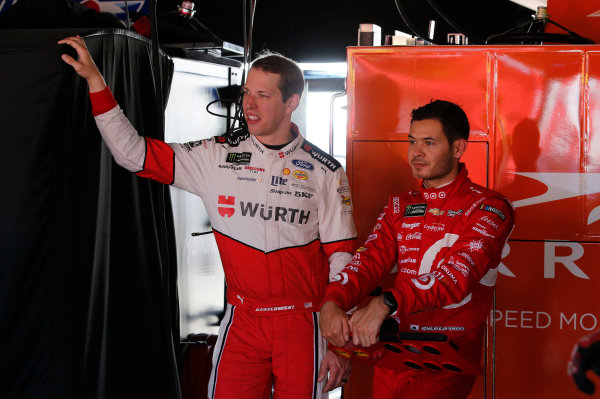 Monster Energy NASCAR Cup Series AAA 400 Drive for Autism Dover International Speedway, Dover, DE USA Friday 2 June 2017 Brad Keselowski, Team Penske, Wurth Ford Fusion Kyle Larson, Chip Ganassi Racing, Target Chevrolet SS World Copyright: Matthew T. Thacker LAT Images ref: Digital Image 17DOV1mt1252