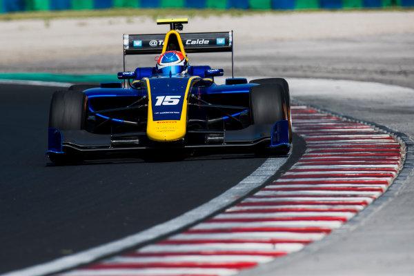 2017 GP3 Series Test 4.  Hungaroring, Budapest, Hungary. Tuesday 6 June 2017. Tatiana Calderon (COL, DAMS)  Photo: Zak Mauger/GP3 Series Media Service. ref: Digital Image _56I0989
