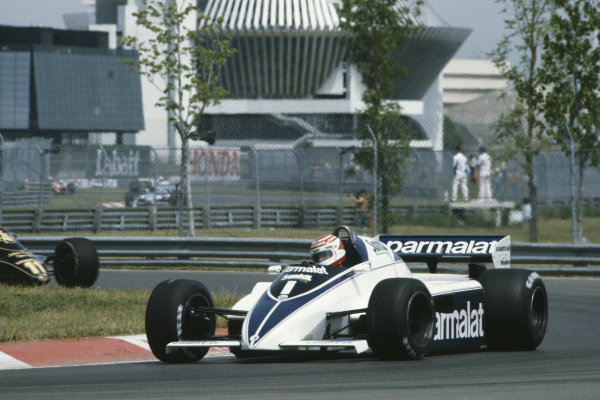 1982 Canadian Grand Prix  Montreal, Quebec, Canada. 11-13 June 1982.  Nelson Piquet, Brabham BT50 BMW, 1st position.  Ref: 82CAN01. World copyright: LAT Photographic