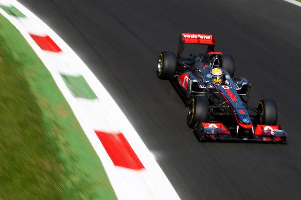 Autodromo Nazionale di Monza, Monza, Italy.9th September 2011.Lewis Hamilton, McLaren MP4-26 Mercedes. Action.World Copyright: Glenn Dunbar/LAT Photographicref: Digital Image _G7C0826
