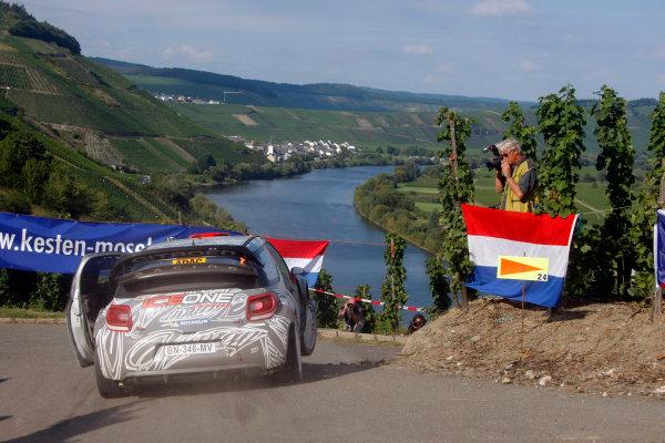 Round 09 - Rally Deutschland 18-21 August 2011.Kimi Raikkonen, Citroen WRC, Action.Worldwide Copyright: McKlein/LAT