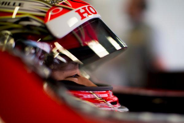 Circuit de Barcelona Catalunya, Barcelona, Spain. Monday 13 March 2017. Nobuharu Matsushita (JPN, ART Grand Prix). Photo: Alastair Staley/FIA Formula 2 ref: Digital Image 585A6739