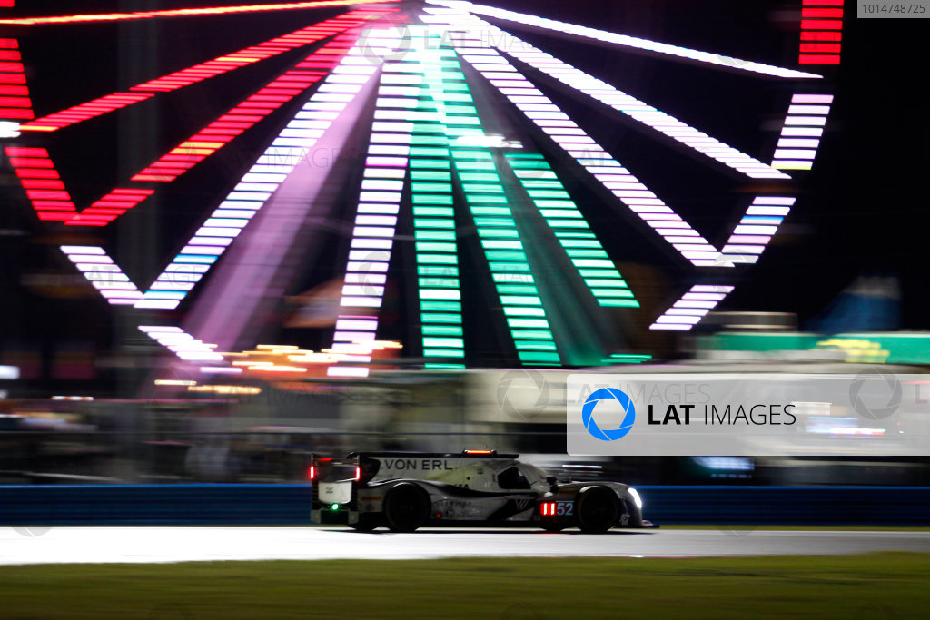 2017 Rolex 24 Hours. Daytona, Florida, USA Saturday 28 January 2017. #52 PR1 Mathiasen Motorsports Ligier: Michael Guasch, R.C. Enerson, Tom Kimber-Smith, Jose Gutierrez World Copyright: Alexander Trienitz/LAT Images ref: Digital Image 2017-24h-Daytona-AT2-2653