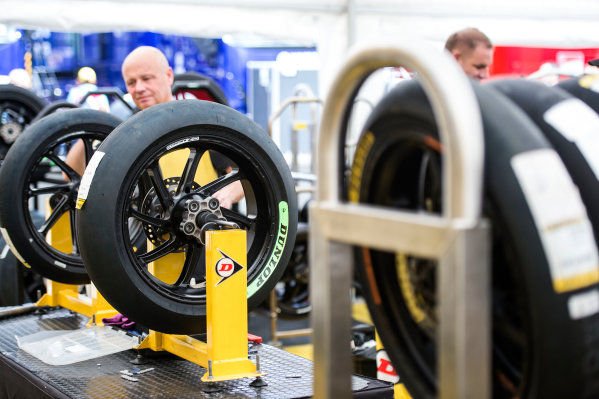 2017 Moto2 Championship - Round 4 Jerez, Spain Thursday 4 May 2017 Dunlop tyres World Copyright: Gold & Goose Photography/LAT Images ref: Digital Image 667635
