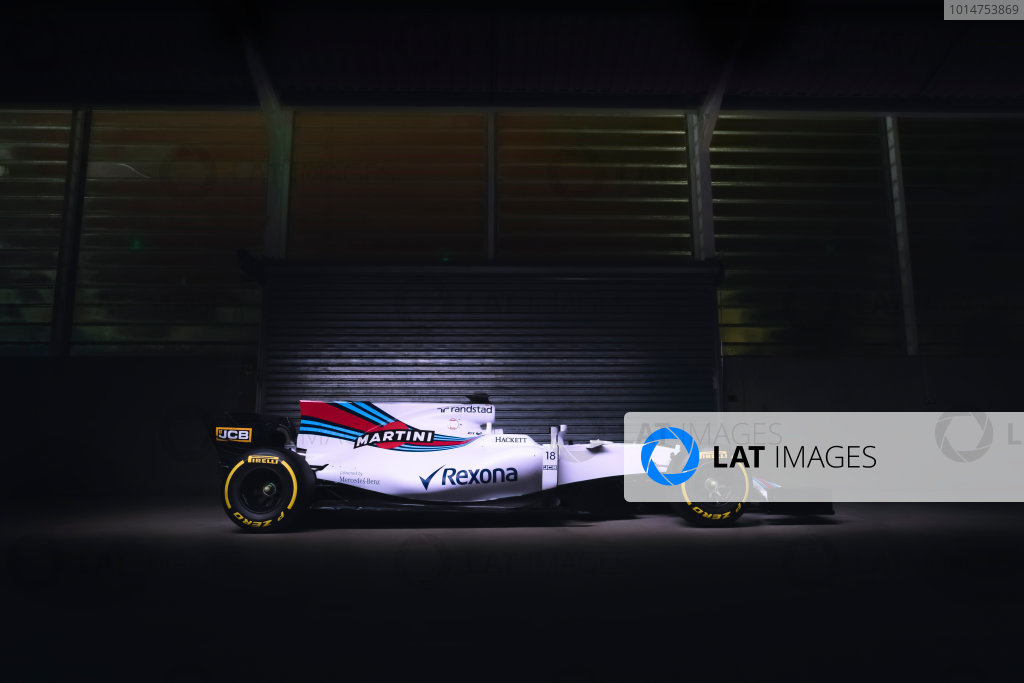 Williams FW40 Unveiling