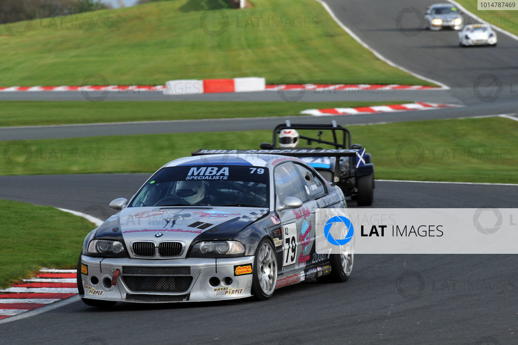 2017 DDMC Northern Saloon & Sports Car Championship, Oulton Park, Cheshire. 15th April 2017. Paul Brydon BMW M3. World Copyright: JEP/LAT Images.
