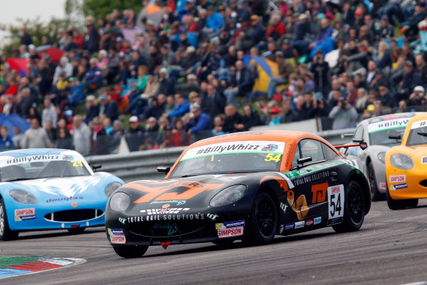2017 Ginetta Junior championship  Thruxton, 6th-7th May 2017,  Adam Smalley JHR Developments Ginetta Junior World copyright. JEP/LAT Images