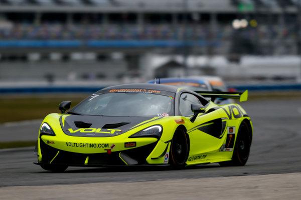 5-8 January, 2017, Daytona Beach, Florida USA 7, McLaren, McLaren GT4, GS, Alan Brynjolfsson, Chris Hall ?2017, Jake Galstad LAT Photo USA