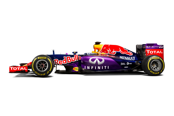 Infiniti Red Bull Racing RB11 Studio Images. Milton Keynes, UK. Sunday 1 March 2015. The Red Bull Racing RB11. Photo: Red Bull Racing (Copyright Free FOR EDITORIAL USE ONLY) ref: Digital Image RB11_LIVERY_12