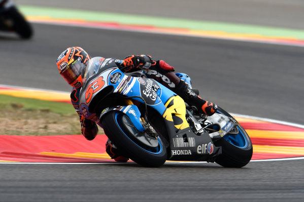 2017 MotoGP Championship - Round 14 Aragon, Spain. Friday 22 September 2017 Tito Rabat, Estrella Galicia 0,0 Marc VDS World Copyright: Gold and Goose / LAT Images ref: Digital Image 693665