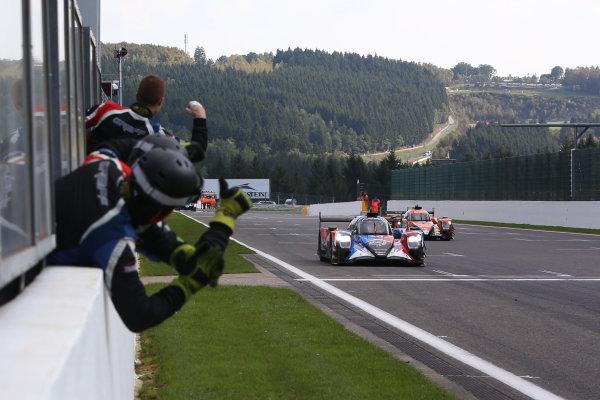 2017 European Le Mans Series  Spa-Franchorchamps, Belgium 22nd-24th September 2017 #40  James Allen (AUS) / Gustavo Yacaman (COL) / Richard Bradley (GBR) ? GRAFF - Oreca 07 - Gibson  World copyright. JEP/LAT Images
