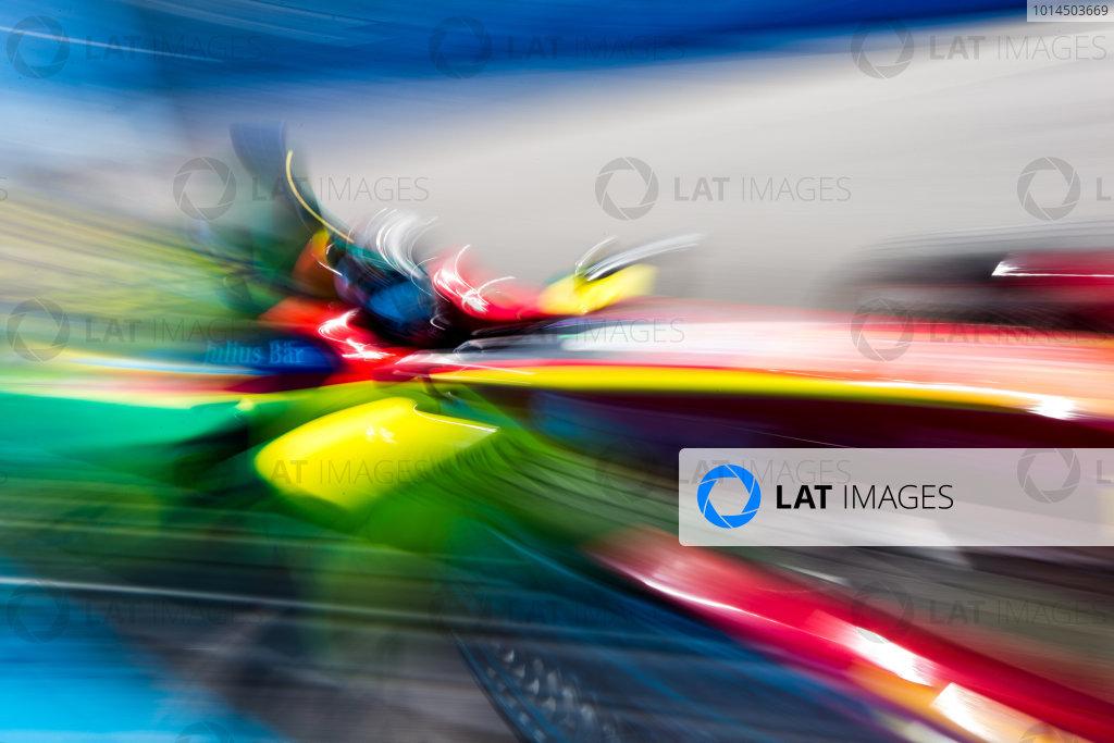 2015/2016 FIA Formula E Championship. Testing, Punta del Este, Uruguay. Sunday 20 December 2015. Daniel Abt (GER), ABT Audi Sport FE01. Photo: Zak Mauger/LAT/Formula E ref: Digital Image _L0U0280