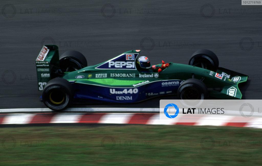 1991 Japanese Grand Prix.Suzuka, Japan.18-20 October 1991.Alex Zanardi (Jordan 191Ford).World Copyright - LAT Photographic