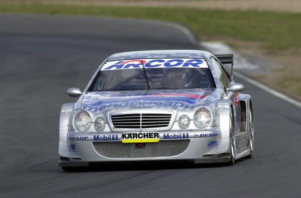 German Touring Cars - DTM 2000.Oshersleben, Germany.18 June 2000.Thomas Jager.World - Hardwick/LAT