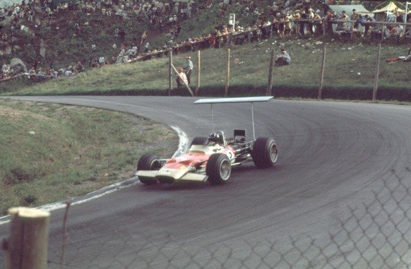 1968 Canadian Grand Prix.Mont-Tremblant, (St. Jovite), Quebec, Canada.20-22 September 1968.Graham Hill (Lotus 49B Ford) 4th position.Ref-68 CAN 07.World Copyright - LAT Photographic